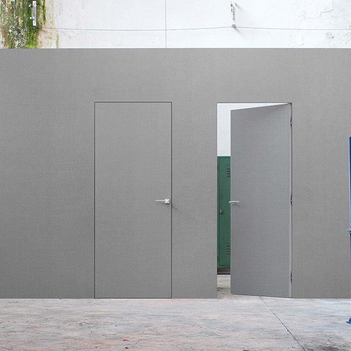 Syntesis Line Battente - hinged door without jambs